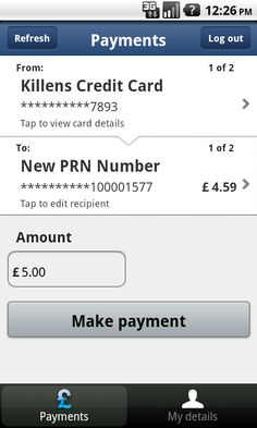 allpay - screenshot Bank Card, Money Management, Android Apps, Google Play, Mobile App, Mobile Applications