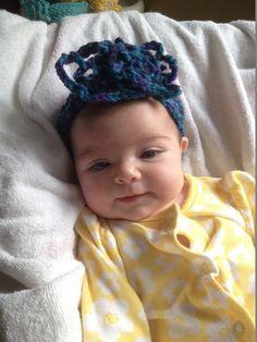 3 Pack Blue Baby/Infant Crochet Headbands by LLCatsCrochet on Etsy, $14.00