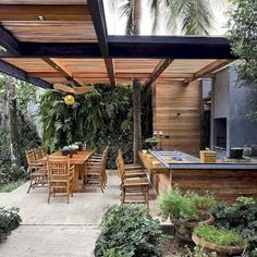 That's why an outdoor kitchen is the most effective suggestion. Obtain outdoor kitchen ideas from thousands of outdoor kitchen photos. Learn about design alternatives sizing planning for home appliances cost and a lot more. Outside Lamps, Outside Room, Parrilla Exterior, Outdoor Gas Fireplace, Outdoor Carpet, Outdoor Ceiling Fans, Outdoor Kitchen Design, Backyard Kitchen, Diy Woodworking