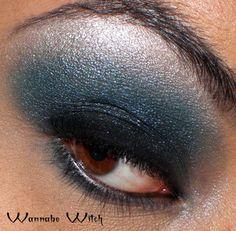 eyes - black, green, silver
