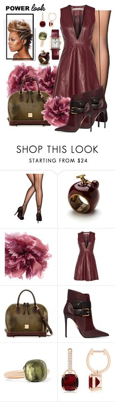 """""""Fly is..."""" by imonlyblessed ❤ liked on Polyvore featuring Pretty Polly, Ann Demeulemeester, Acne Studios, Dooney & Bourke, Balmain, Pomellato, Cartier, WhatToWear, girlpower and powerlook"""