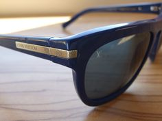 0d80c3604a88 Designer LOUIS VUITTON Possession Sunglasses Z0563W blue plastic frames  handmade in Italy
