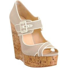 christian louboutin melides wedge - Google Search