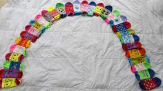My Soxy Feet Sock Rainbow! www.mysoxyfeet.com
