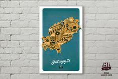 Cuadros Hi Ibiza ORIGINAL SINCE 2013 Mapa, Just enjoy it! PVC de 5mm con soporte para colgar en pared. Medidas: 318x505mm Design by: David Tur #hiibiza #hibiizaoriginal #hiibizaoriginalsince2013 #5años #hiibizapostcards https://www.facebook.com/hi.ibiza/ https://www.facebook.com/davidturdesign/