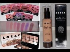 LORAC SPRING 2016 COLLECTION | REVIEW, SWATCHES & DEMO