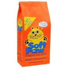 Soft Paw Clumping Cat Litter, 7-lb. Bags