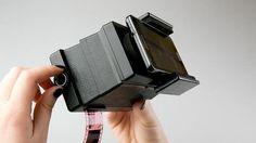La tecnología no para! Escaner de negativos para smartphones!