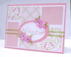 Thinking of You Handmade Greeting Card - Get Well Card, Sympathy Card ...