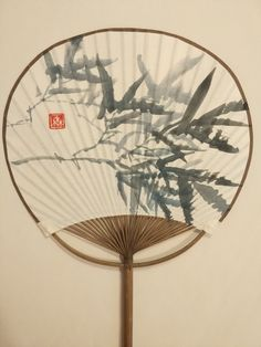 Chan Wing Sum artwork, 陳榮森作品-執扇 竹 Bamboo drew on fan, HK Bamboo Drawing, Plant Painting, Asian Paints, Drawings, Suminagashi, China Art, Painting, Art, Chinese Drawings