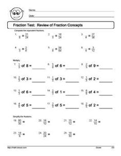 These Fun Worksheets Will Have Your Kids Finding Equivalent ...