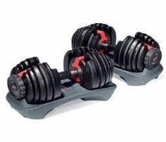 Want these! Adjustable dumbbells. Don't have to buy different sets, just these!