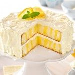 Discover sweet lemon cake recipes in this My Food and Family collection! We have delicious lemon cake recipes for cupcakes, layer cakes, pound cakes and more. Kraft Foods, Kraft Recipes, Gourmet Recipes, Lemon Recipes, Cake Recipes, Dessert Recipes, Egg Recipes, Lemon Desserts, Easter Recipes