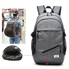 Multipocket Smart Backpack with USB Port - People Gadgets 05c8e9498a8fa