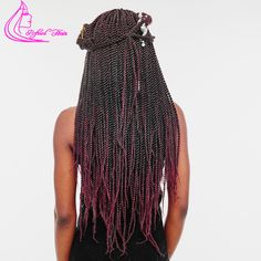 22 inch Ombre Kanekalon Crochet Braids Hair 30 Strands/pack 17 Colors Refined Products Senegalese Twist Braiding Hair Extensions
