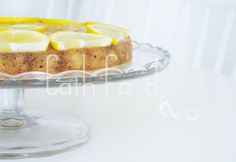 Sunny lemon cake! Are YOU ready for spring/summer?! Check out this recipe @ Cathfood.com!
