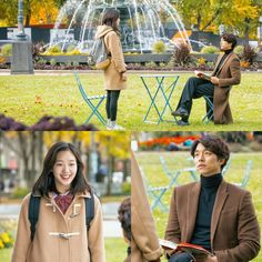 "Final Romantic Stills Before ""Goblin"" Premiere (Gong Yoo & Kim Go Eun) 