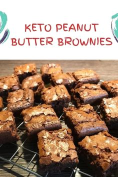 KETO PEANUT BUTTER BROWNIES These amazing and mouth-watering keto brownies are topped with a rich sugar free peanut butter fudge and a sweet chocolate glaze. Perfect for any kind of occasions/ceremonies. Keto Brownies, Chocolate Fudge Brownies, Peanut Butter Brownies, Buckeye Brownies, Keto Fudge, Brownie Cake, Sugar Free Peanut Butter, Butter Pecan, Sugar Free Chocolate