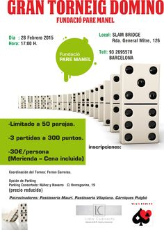 Gran Torneig de Domino al Slam Bridge.