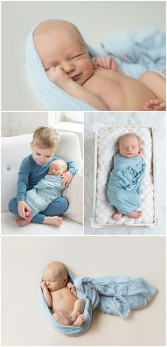Minneapolis newborn and baby photography | Minnesota newborn session | Meghan Doll Photography | Big brother with baby