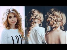 three hair styles from a single hair - YouTube