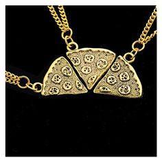MJartoria Antique Gold Color Pizza Slice Friendship Necklace Set of 3 MJartoria http://www.amazon.com/dp/B00Z7056PM/ref=cm_sw_r_pi_dp_6QJDvb1AD3XJA
