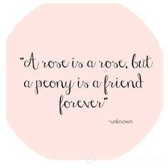 Peony quote