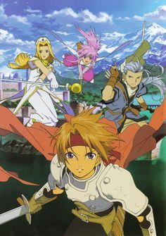Group artwork - Tales of Phantasia The Animation (the anime series)