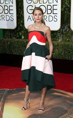 Prêmios e looks: tudo que rolou no Globo de Ouro - Golden Globes 2016 - party dress - red carpet - Olivia Palermo