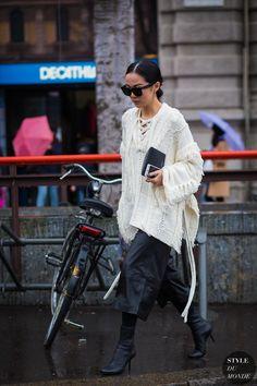 Rue Yoyo Cao Street Style Fashion Streetsnaps par STYLEDUMONDE Street Style Fashion Photography