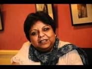 """Nirupama Dutt, born in 1955, is an Indian poet, journalist and translator.[1] She writes poems in Punjabi, and sometimes translates them in English.  A senior journalist with thirty years of experience, she has worked with leading Indian newspapers and journals. She has published one volume of poems – Ik Nadi Sanwali Jahi (A Stream Somewhat Dark) – for which she was awarded the Delhi Punjabi Akademi Award in 2000. She is also know to work on the book """"Half the Sky""""."""
