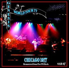 "NAS ONDAS DA NET: GENESIS - ""World Tour - Chicago"" - 1977"