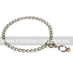 6b38188ad2f2 Collar cadena de ahorque para perros adultos - HS 51112 (55) Collar De Púas