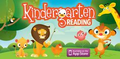 Kindergarten Reading – New App from Duck Duck Moose Review from OT's with Apps. Pinned by SOS Inc. Resources. Follow all our boards at pinterest.com/sostherapy/ for therapy resources.