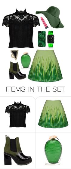 Go Your Green by dinyvia on Polyvore featuring art, StreetStyle and GREEN