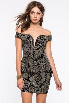 Платье Размеры: S, M Цвет: золотой с принтом Цена: 2441 руб.     #одежда #женщинам #платья #коопт