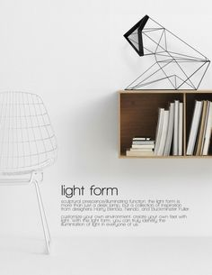 Via Sub Studio   Light Form   Geometric   Bertoia Wire KNOLL. http://decdesignecasa.blogspot.it/