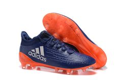 new product 6723b 2c82a 2016 Cheap Adidas X 16.1 FG Navy Blue Orange Grey. Nike Soccer ShoesSoccer  BootsSoccer ...
