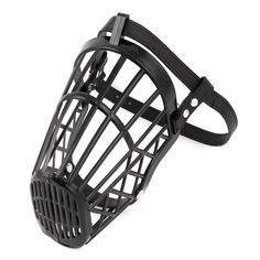 Plastic Pet Dog No Bark No Bite Adjustable Mesh Muzzle Guard 6no. Black -- See this awesome image  (This is an amazon affiliate link. I may earn commission from it)