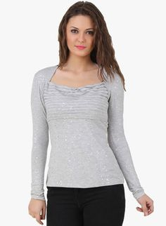 New Collection in Tops, Tees & Shirts for Women - Buy Latest Design Women Tops, Tees & Shirts Online | Jabong.com