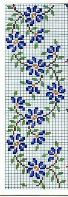 This Pin was discovered by HAC Cross Stitch Bookmarks, Mini Cross Stitch, Cross Stitch Rose, Beaded Cross Stitch, Cross Stitch Borders, Crochet Cross, Cross Stitch Flowers, Counted Cross Stitch Patterns, Cross Stitch Charts