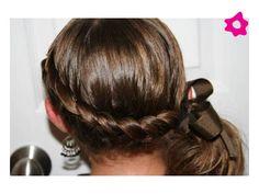 peinados para pajecitas con trenzas - Buscar con Google