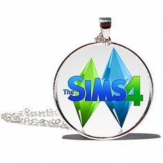 The Sims 4 Logo Necklace or Keychain