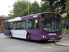 Norwich Buses, Green And Purple, Blog
