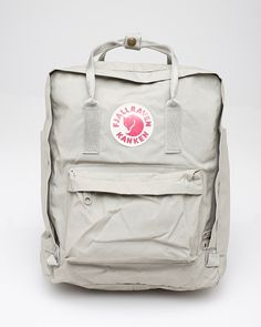 Classic Backpack by Fjall Raven The classic backpack design from Fjallraven. Padded straps, one large main compartment and two side pockets and a zip front pocket, ideal for day use or short trips. Simple construction, waterproof. Vinylon.
