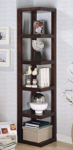 Corner Bookcase - Librero -esquinero