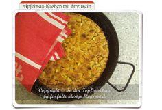 farfalla-in-den-Topf-geschaut: In den Topf geschaut * Apfelmus-Kuchen mit Streuse...