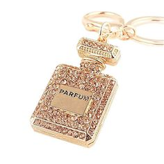 Smartlife15 Crystal Key Chain Rhinestone Charm Key Ring Gift for Womens Bag or Cellphone or Car Pendant (Coffee(Perfume Bottle)). √Crystal Key Chain Material: Alloy, rhinestone. √Rhinestone Charm Key Ring Size : 11.8*3*5cm,Weight:41g. √Spacious, durable key ring fits all of your keys/purses/handbags,also as a great car accessories. √Handmade, Classic and Unique Ideas Key Chain Gift. Suits for women/girl/female/sister/mother/best friend. √A perfect present for Birthday, Valentine's Day...