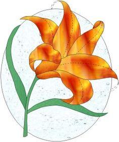 Vitrail vitrail pinterest - Dessin fleur de lys ...