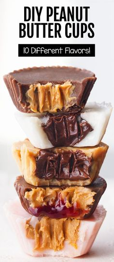 5 Ingredient Chocolate Peanut Butter Cup Recipes
